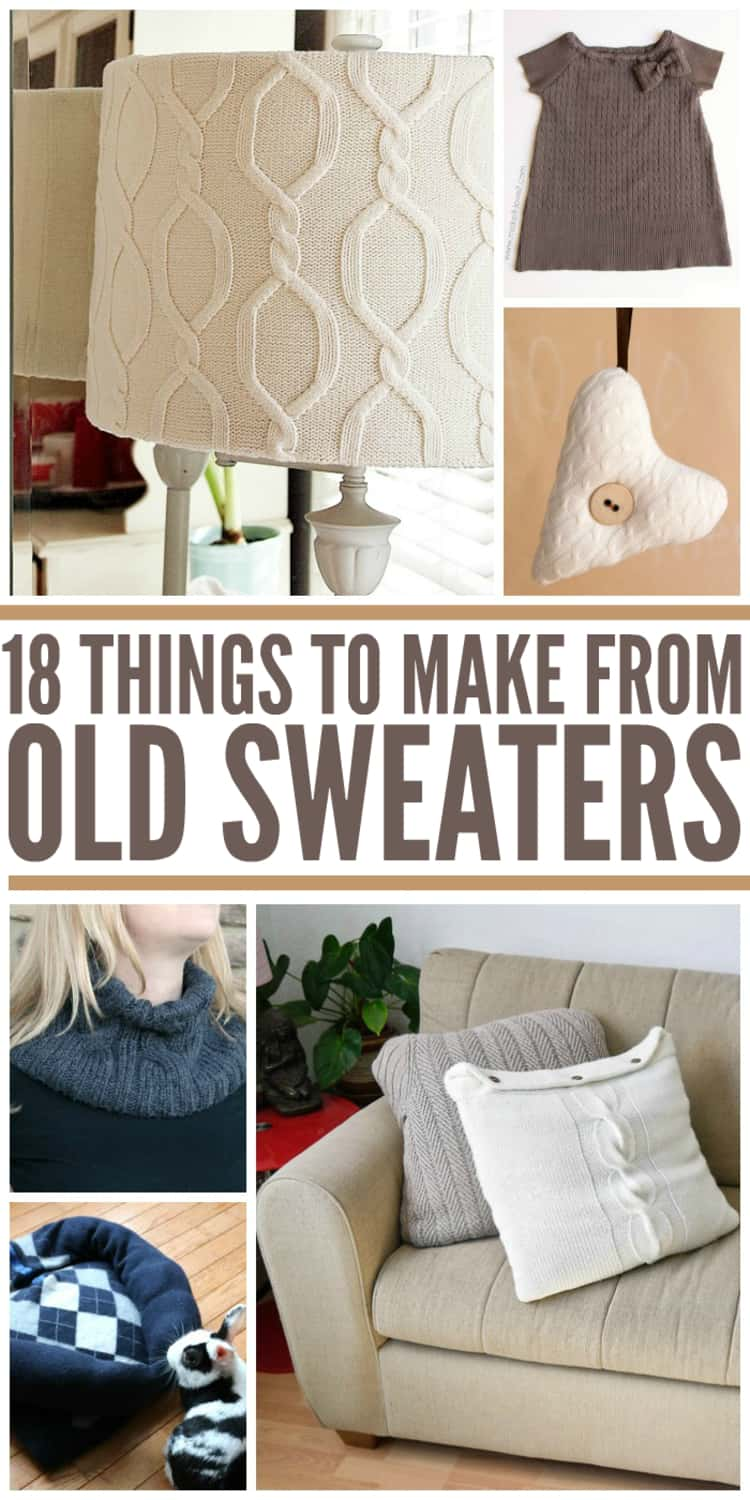 recycle old sweaters