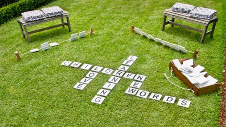 Backyard DIY Ideas - outdoor games