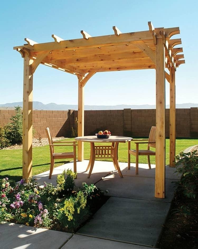 Backyard DIY Ideas - pergola