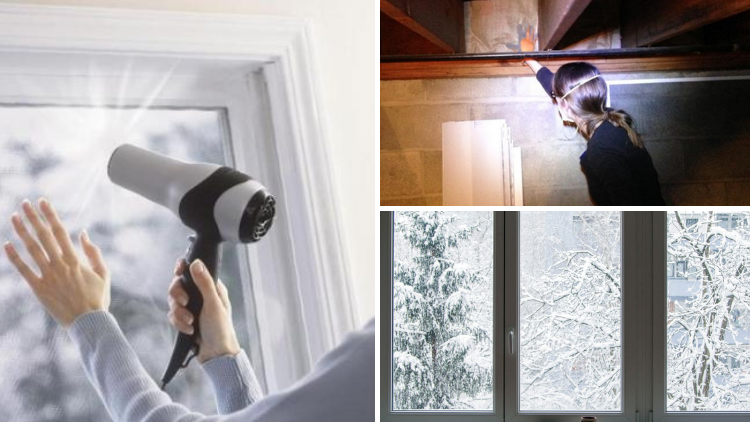 Ways to Keep Drafts Away in Winter - Windows