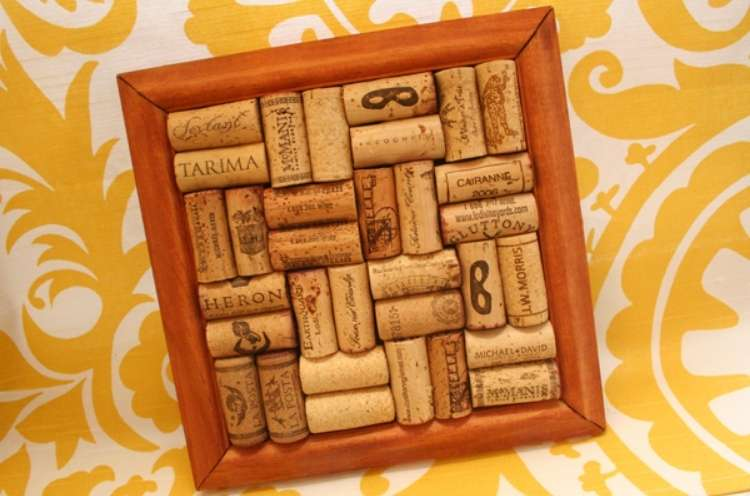 Wine Cork Crafts Cork DIY Trivet for Pots and Pans