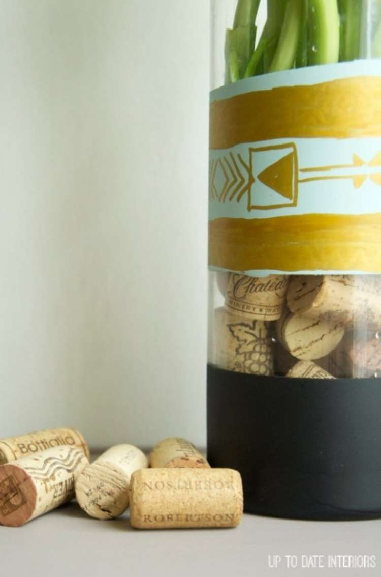 Wine Cork DIY Crafts Vase Filler