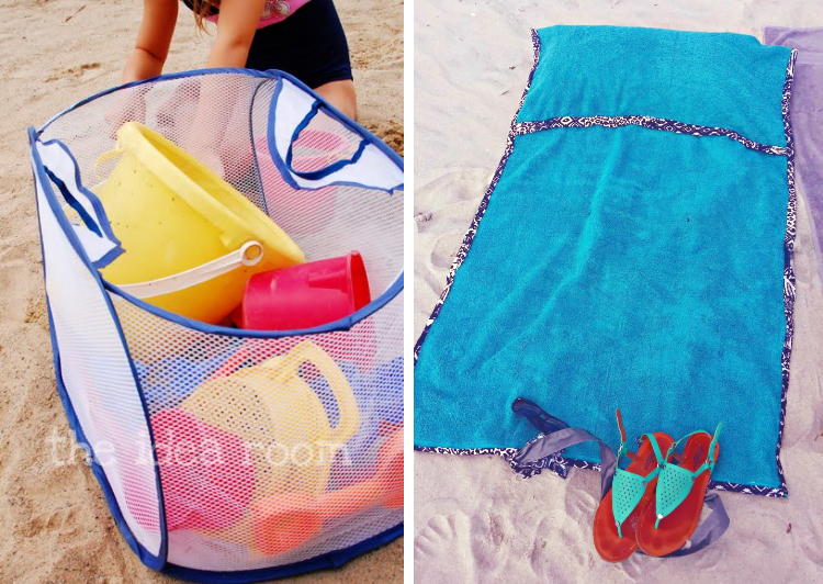 Beach hacks and tips for fun with kids