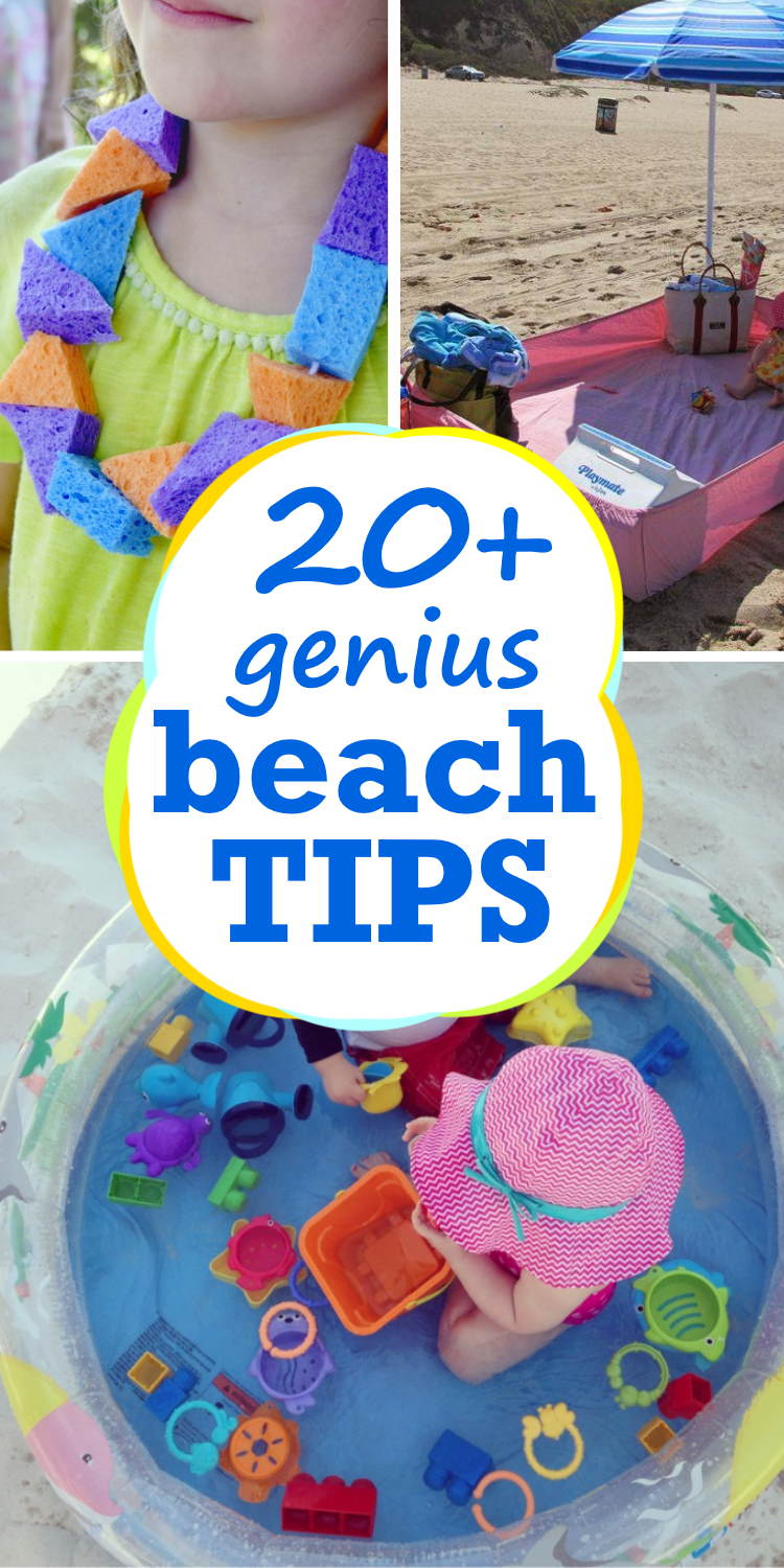 Genius Beach tips and tricks for moms