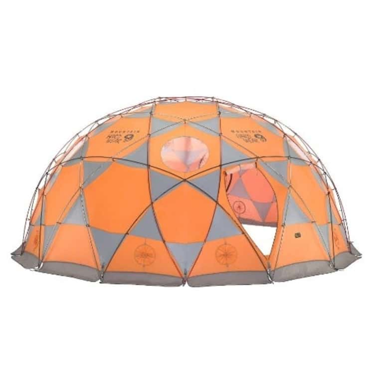 This Round Tent is Perfect For Large Families Planning On a Camping Expedition