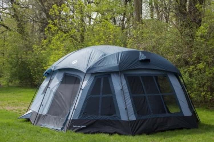 This Tent serves Large Families Who Are On A Camping Adventure