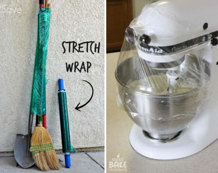 plastic wrap uses