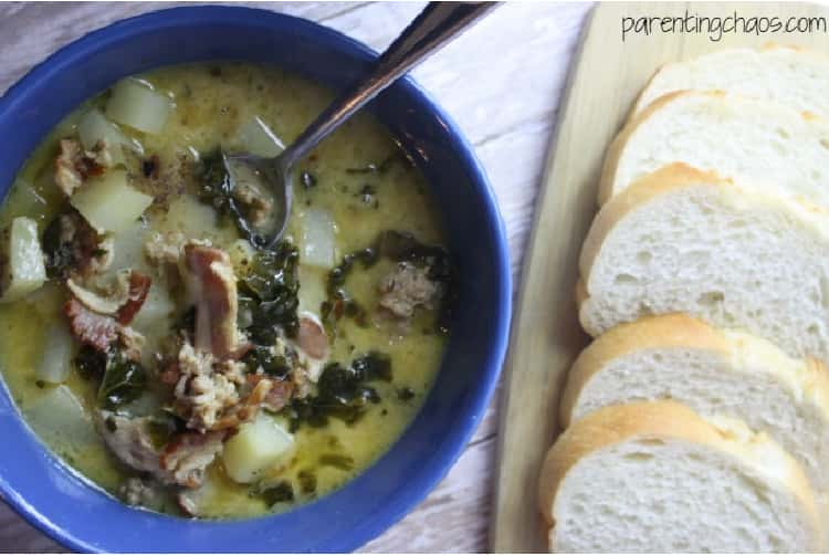 Zuppa Toscana in Crockpot