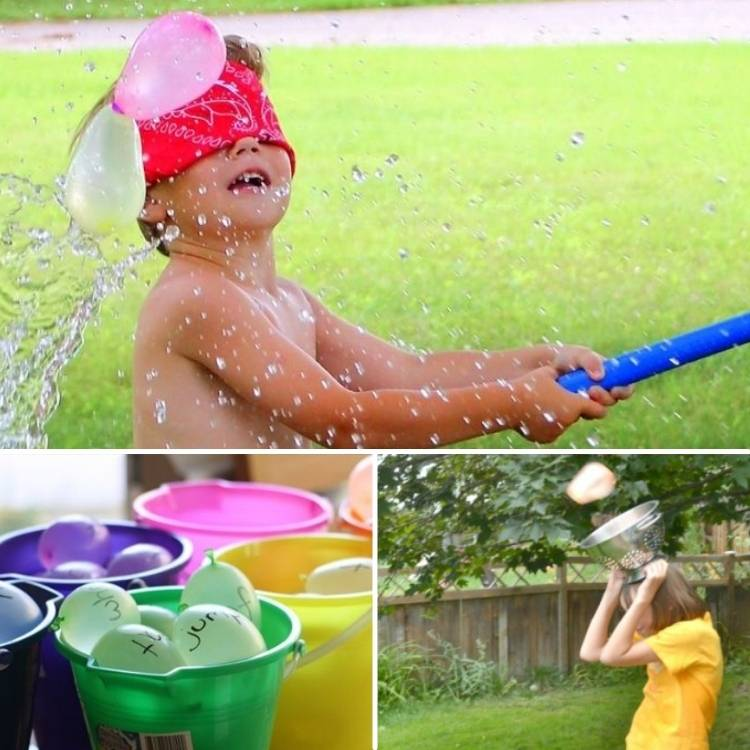 waterballoon game ideas for kids