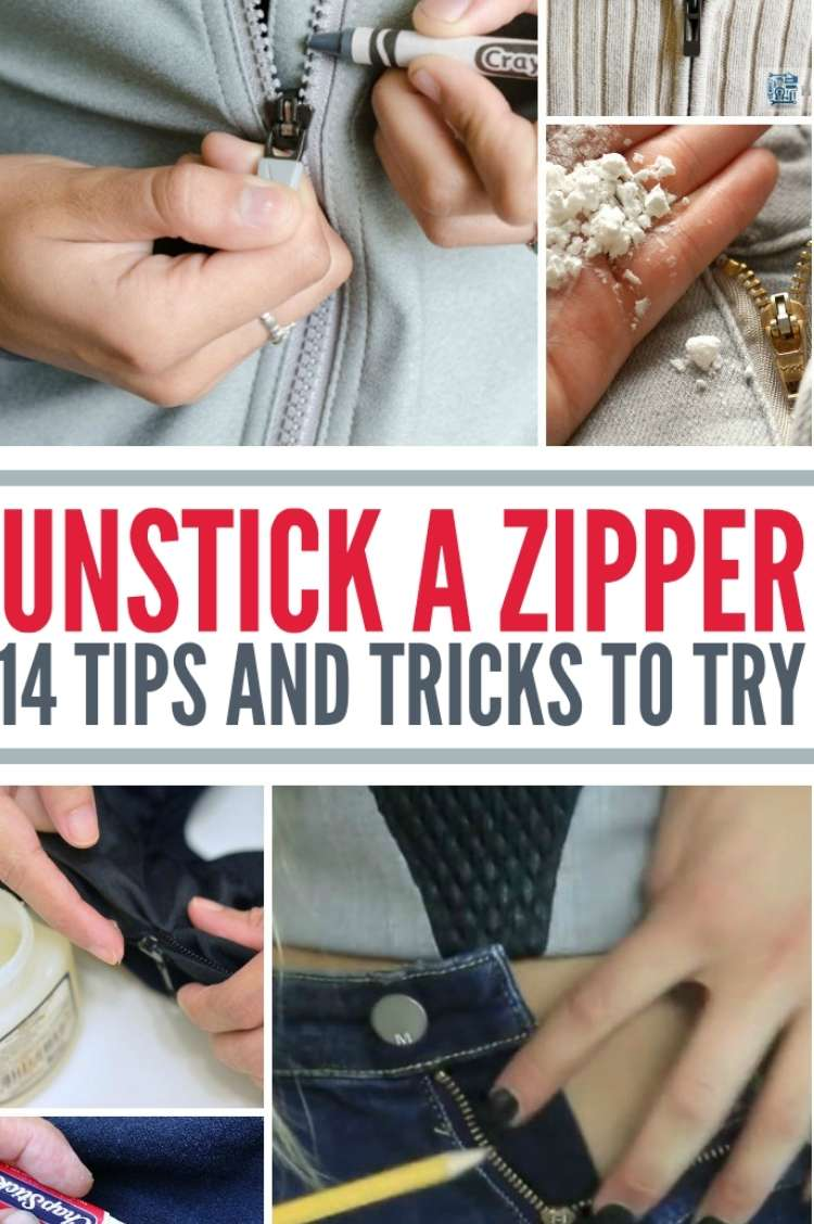 collage of zipper images