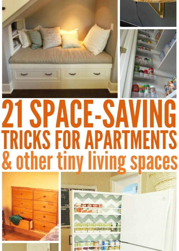 21 Space Saving Tricks for small room ideas