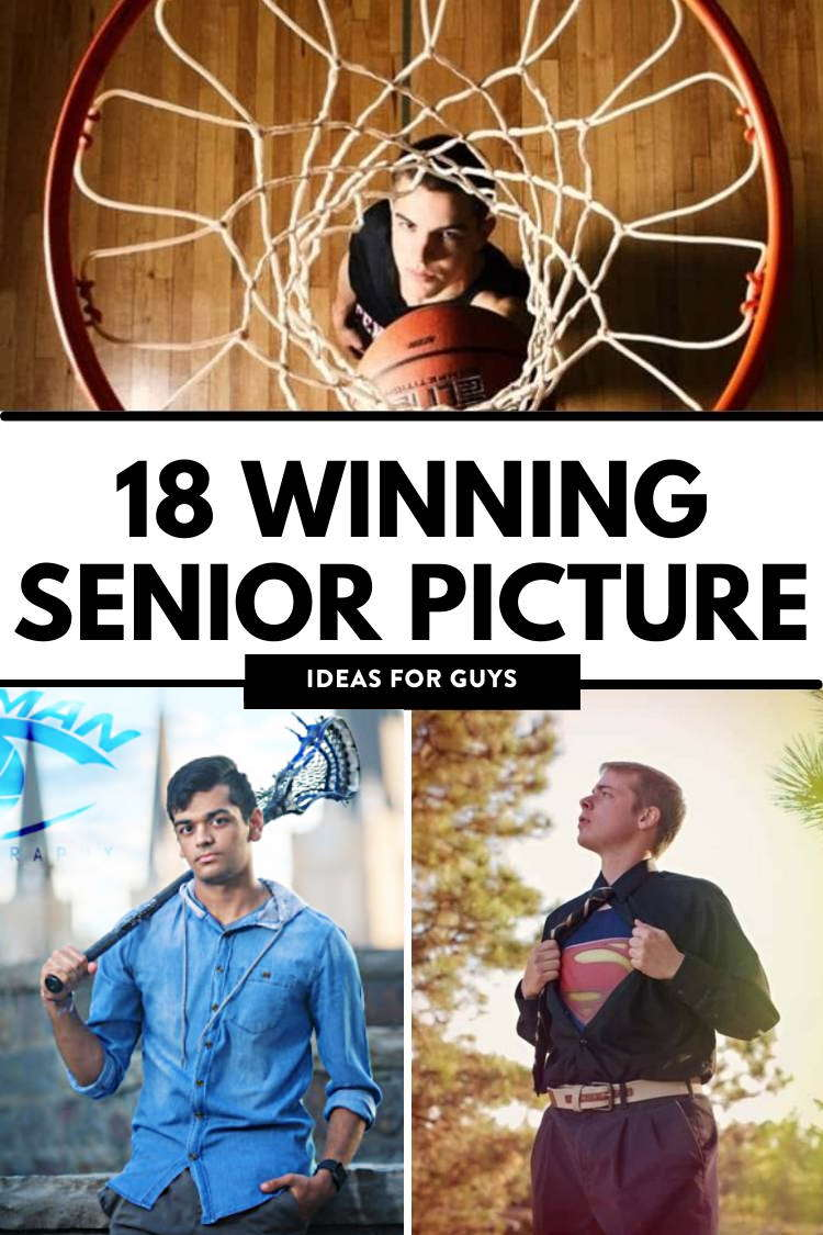 Senior Picture Ideas Guys