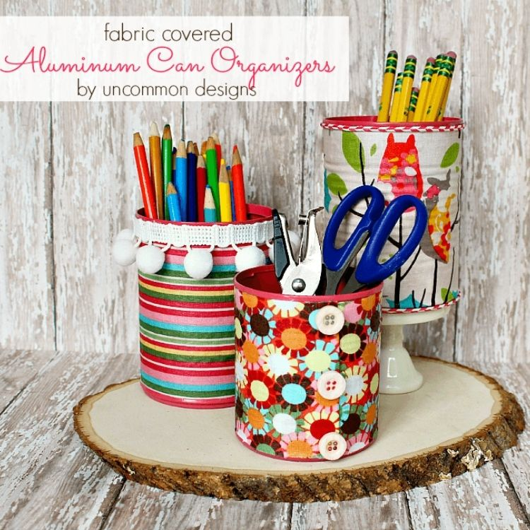 Tin can craft containers