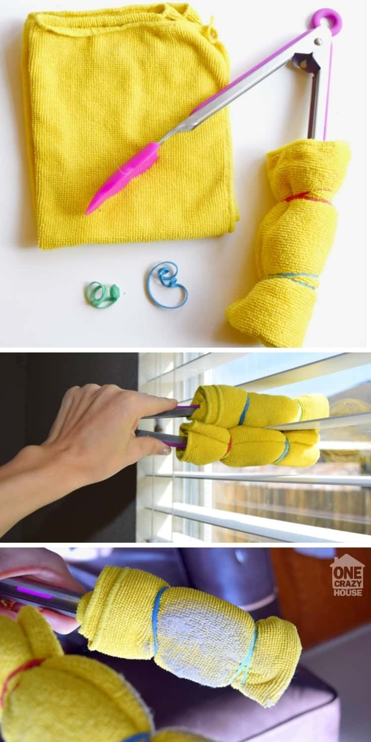 Blinds Cleaning Hacks