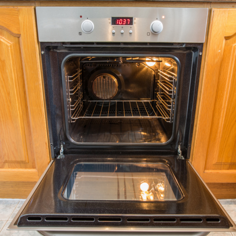 Cleaning oven with natural methods - no chemicals - One Crazy House