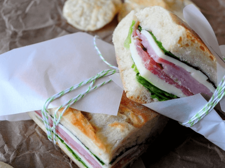no cook dinner picnic sandwiches are fast and easy to make