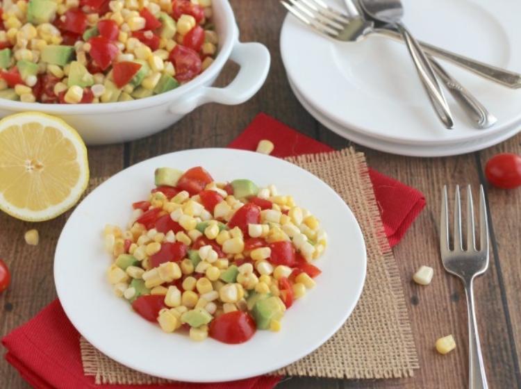 a fresh salad as a no cook dinner idea
