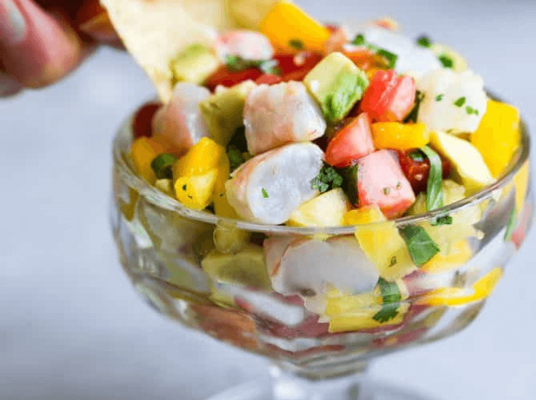 ceviche is a fun no cook meal