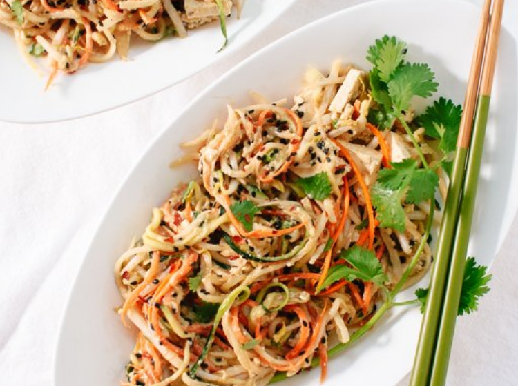 Pad Thai can e a no cook meal
