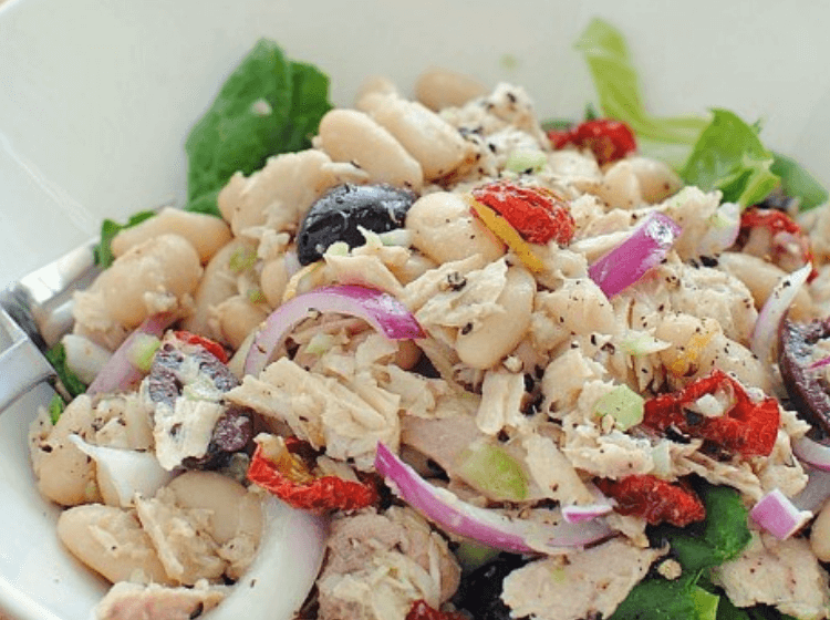 no cook dinner salad is yummy with tuna