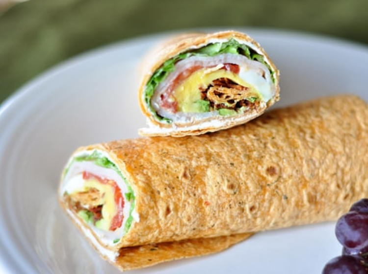 no cook wrap with turkey