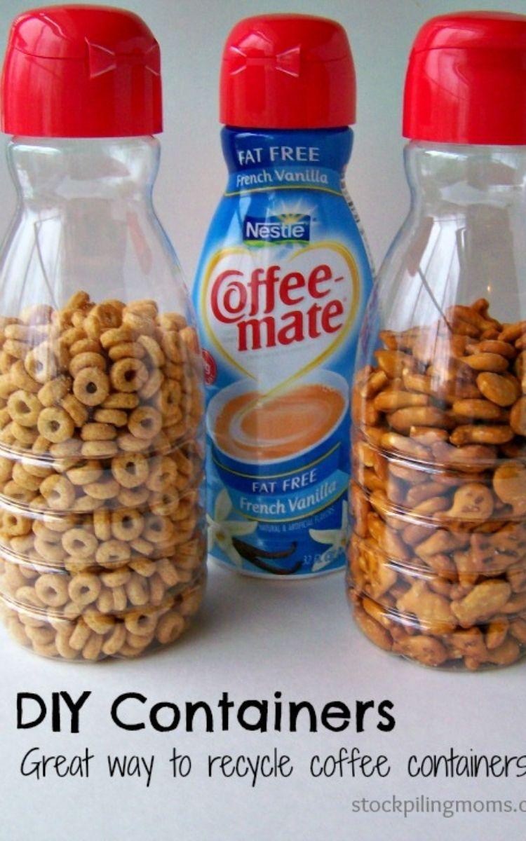 Coffee Mate storage uses