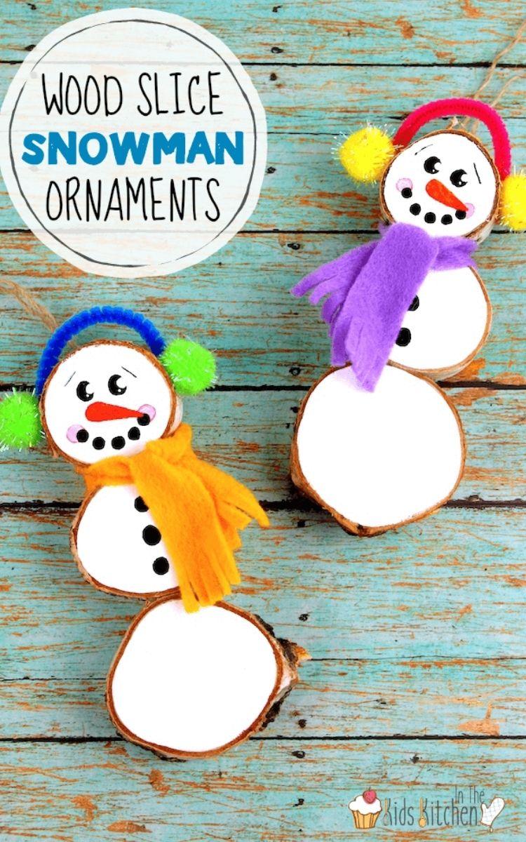 Adorable woodlice snowmen