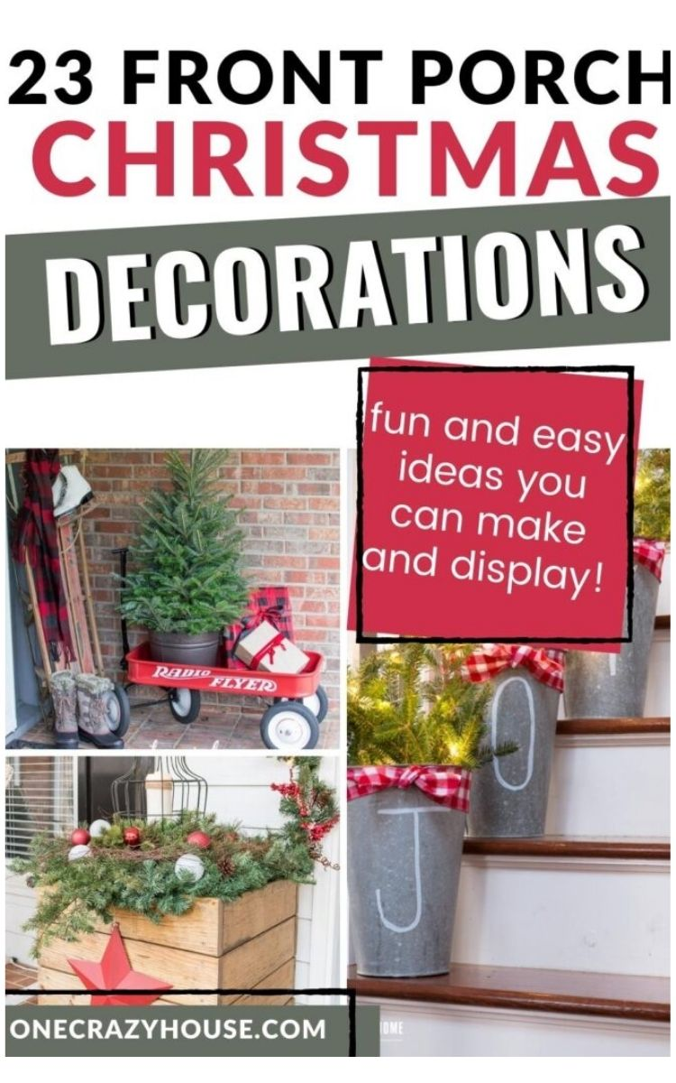 Three awesome Christmas porch decorations