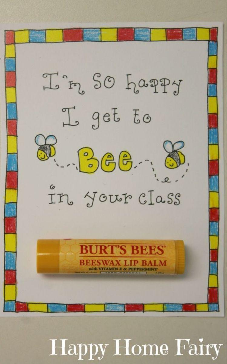 Bee balm teacher's gift