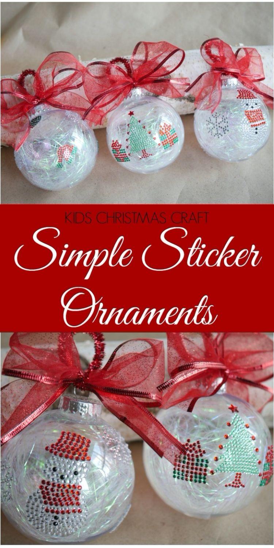 Beautiful sticker ornaments