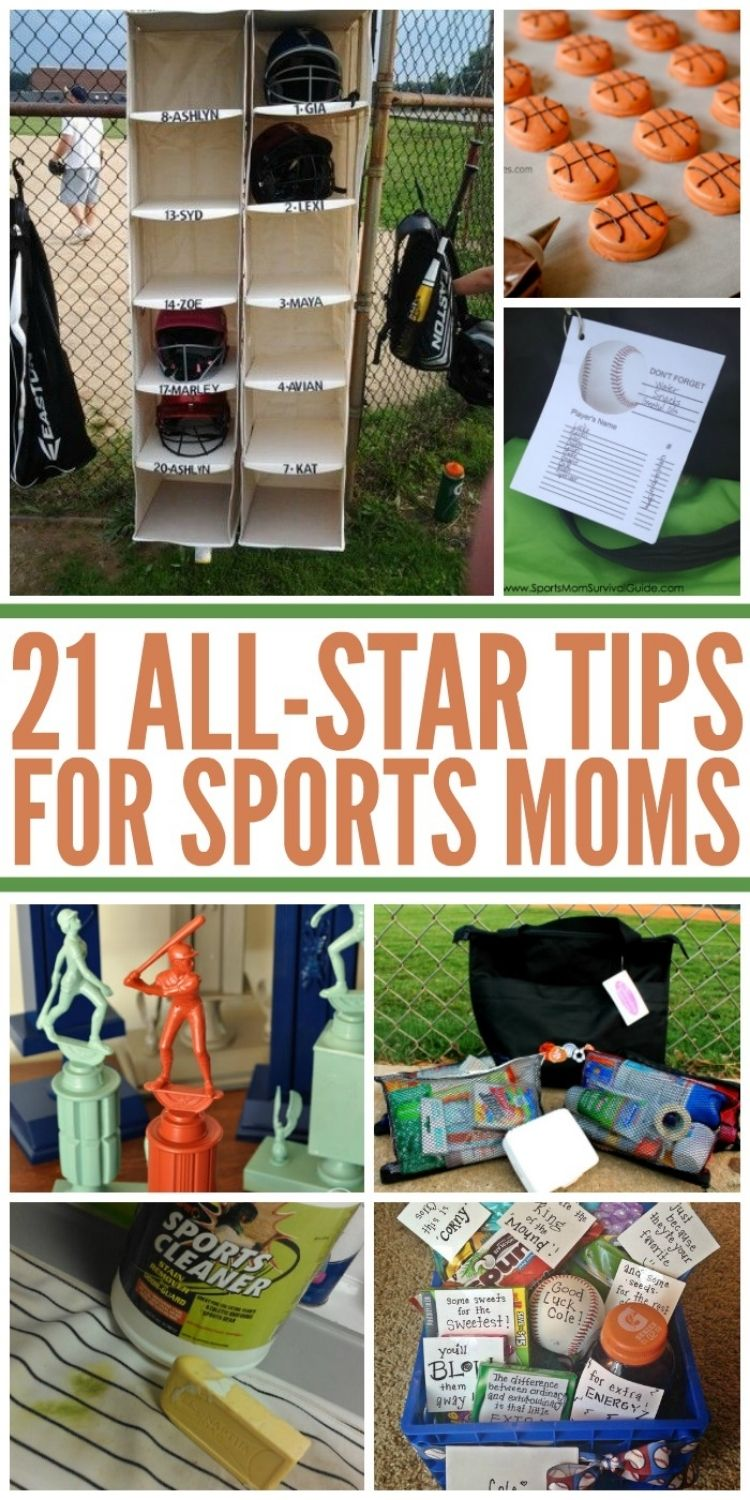 Collage of images including helmet storage, trophies, cleaning solutions, first aid pack