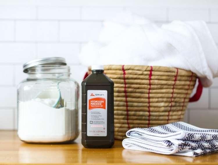 Hydrogen Peroxide Recipe- Homemade Oxi Cleaner