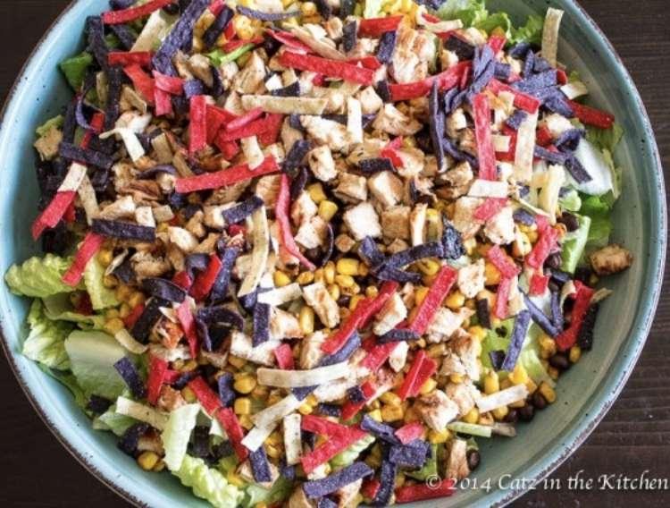Panera BBQ Chopped Chicken Salad