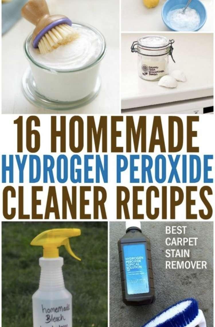 Homemade Hydrogen Peroxide Recipies