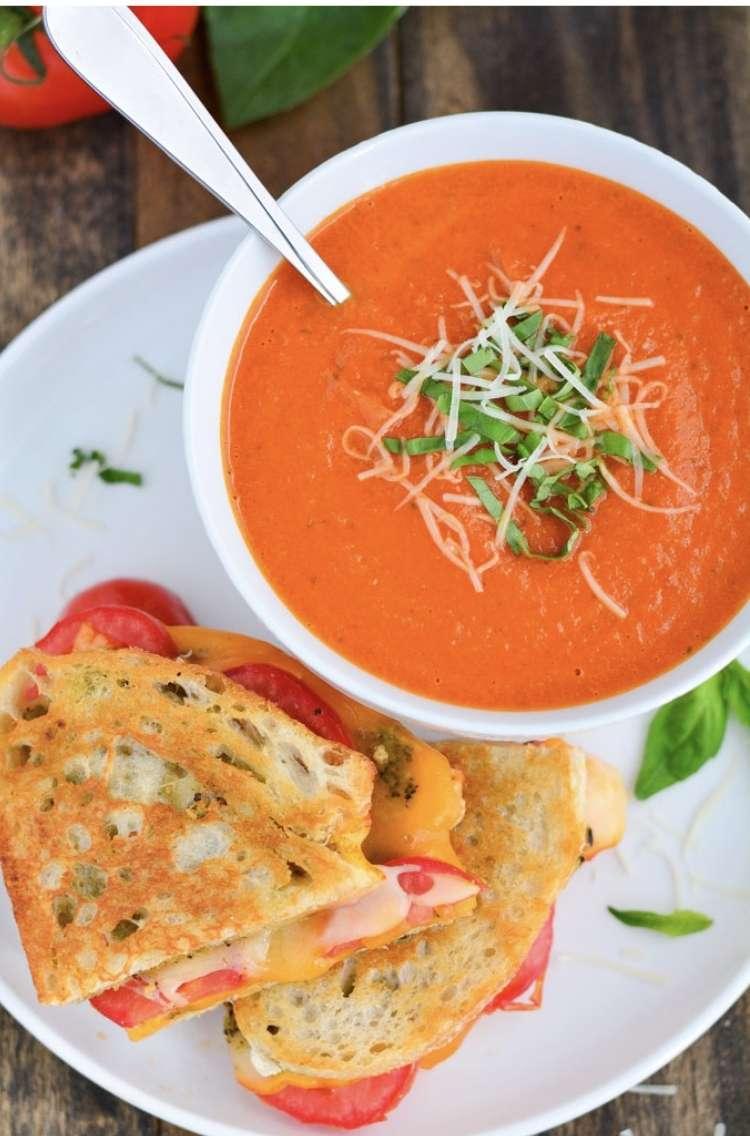Panera Tomato Basil Soup