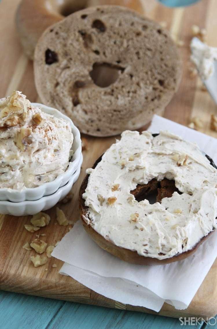 Panera Honey Walnut Cream Cheese