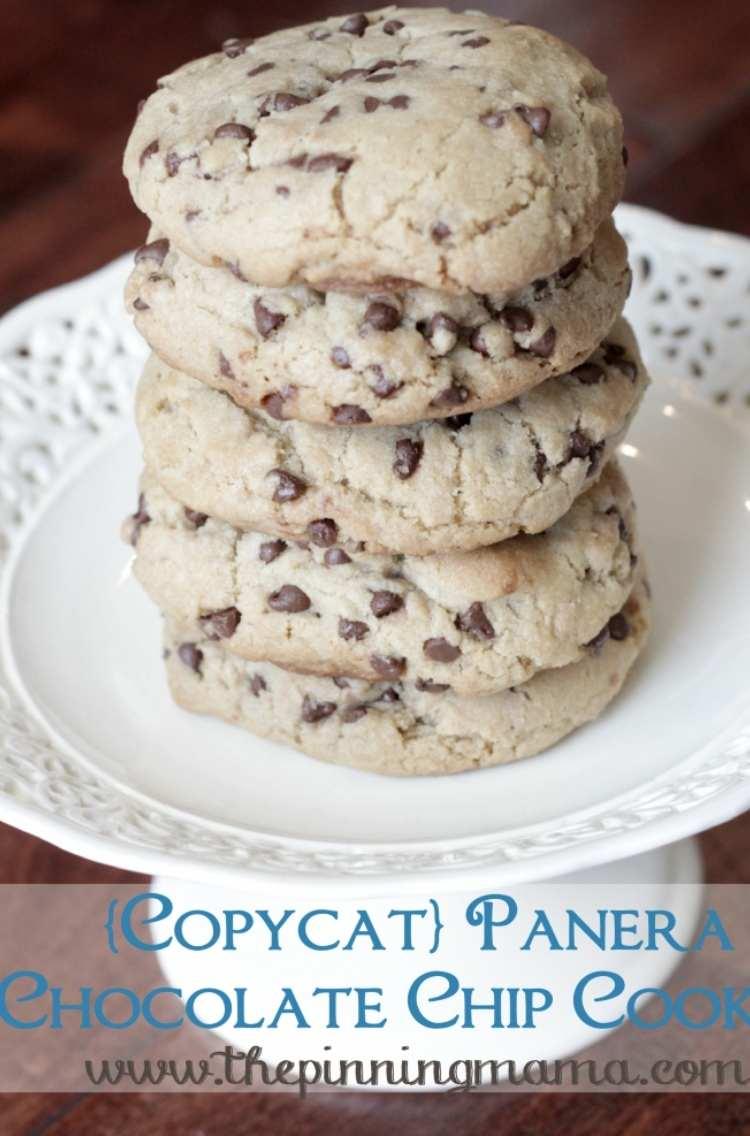 Panera Chocolate Chip Cookies
