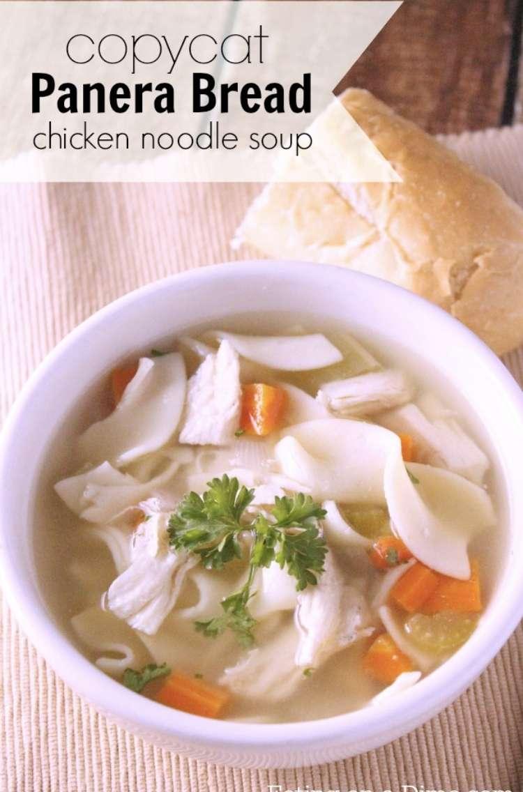 Panera Chicken Noodle Soup