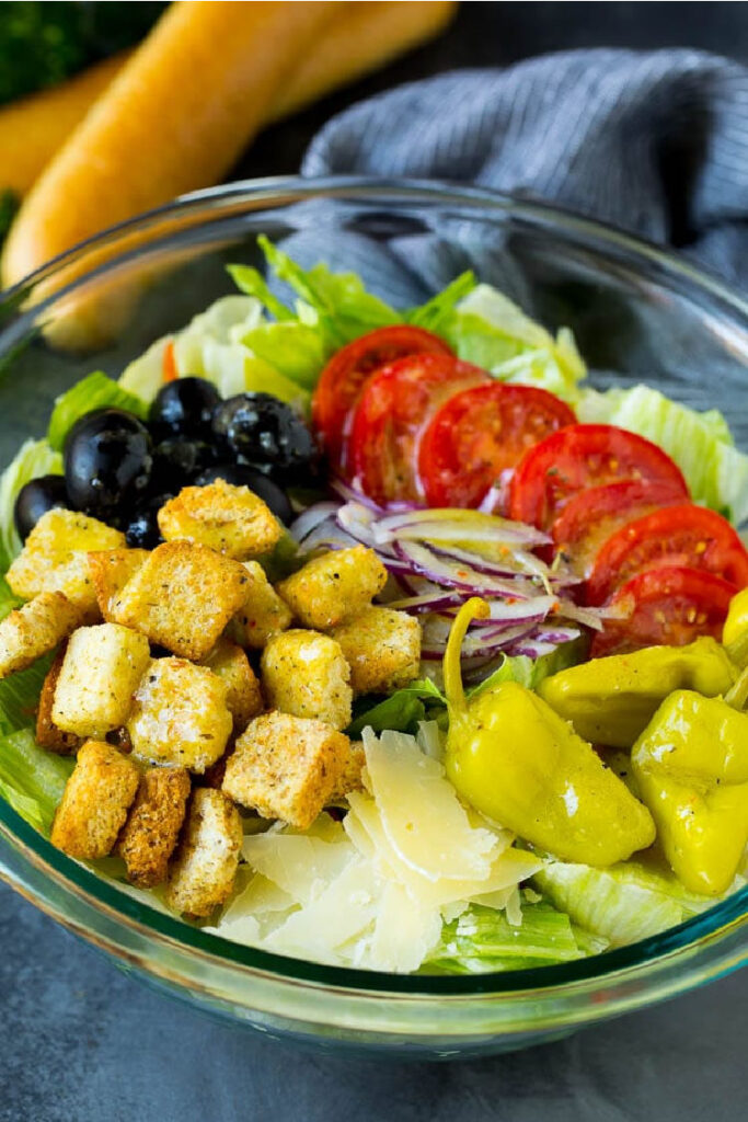 Olive Garden Salad Copycat Recipe from Dinner at the Zoo