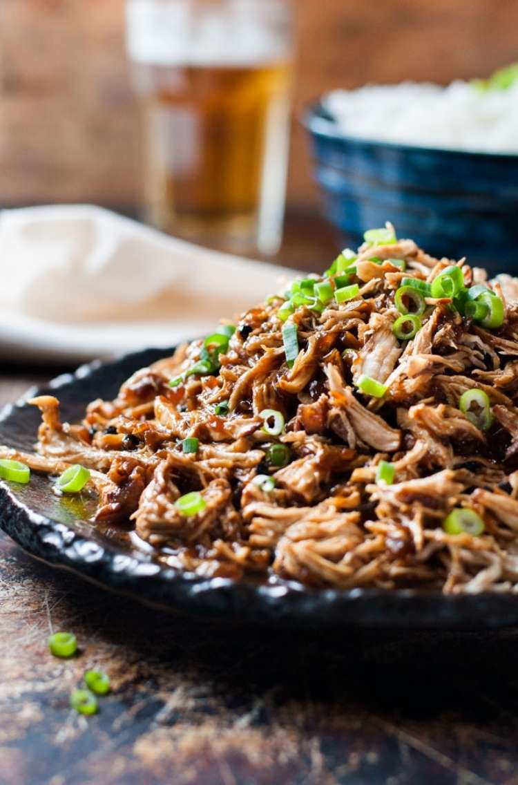 One Crazy House Instant Pot Dinners Sweet Soy Sauce shredded chicken