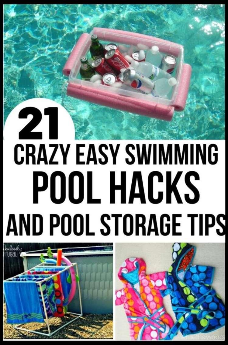 OneCrazyHouse pool storage