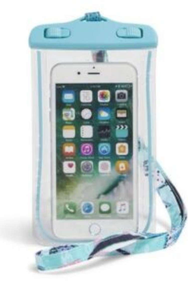 OneCrazyHouse pool storage smartphone inside waterproof plastic bag