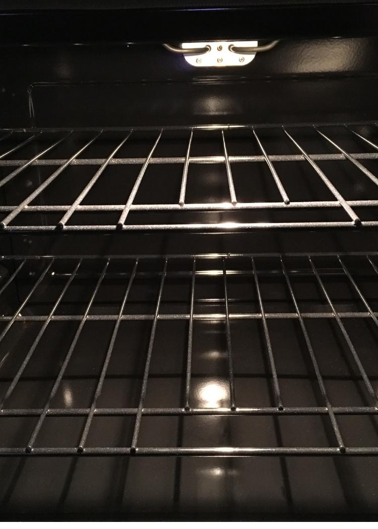 how to clean your oven racks
