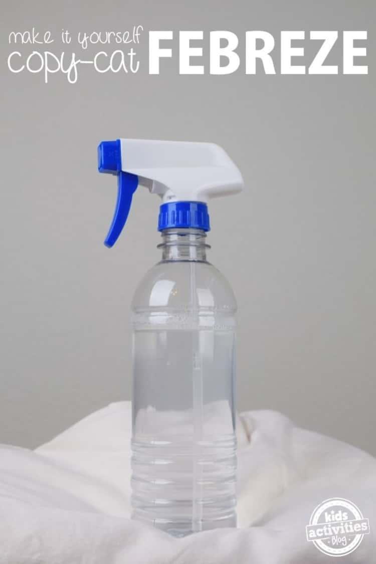 DIY Febreze in a sprayer