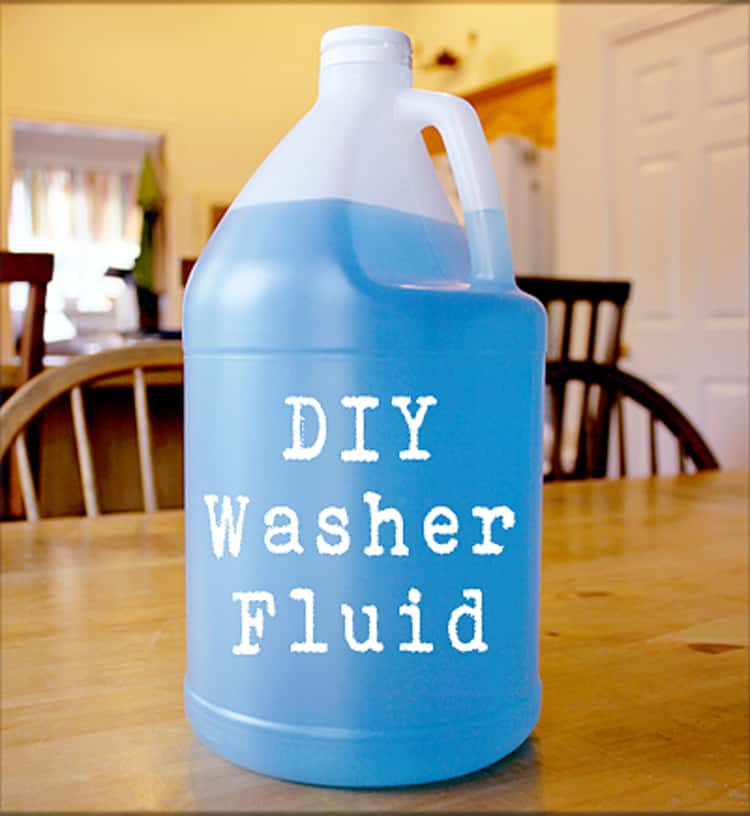 DIY washer fluid for your car for the winter