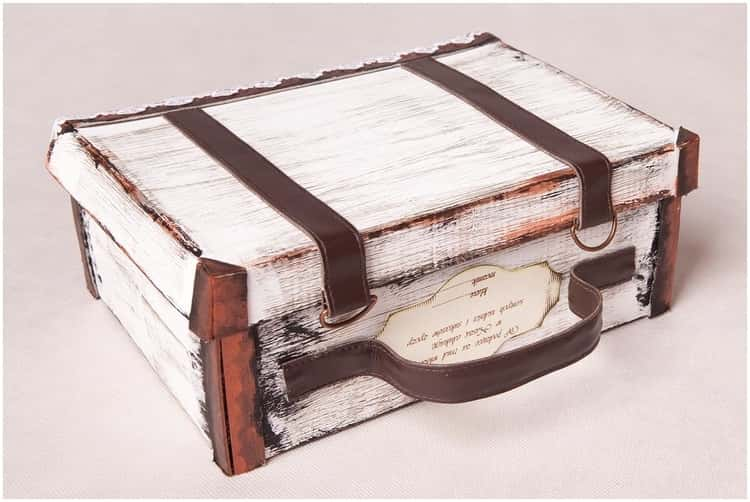 Gift Suitcase For Travel Surprises