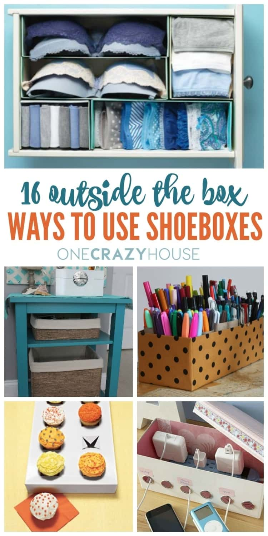 16 Ways On How To Use Shoeboxes