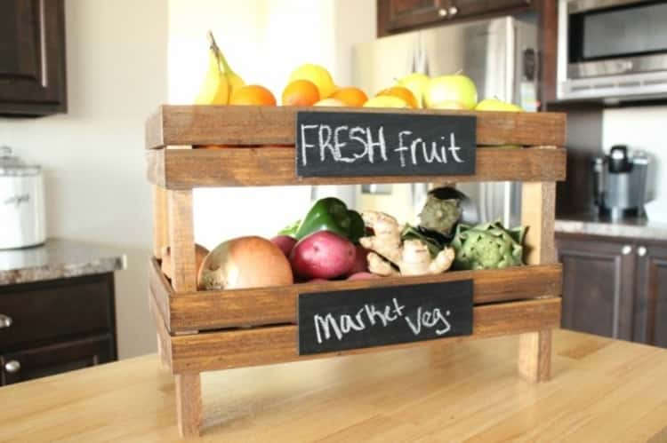 Pottery Barn Stackable Fruits Crates