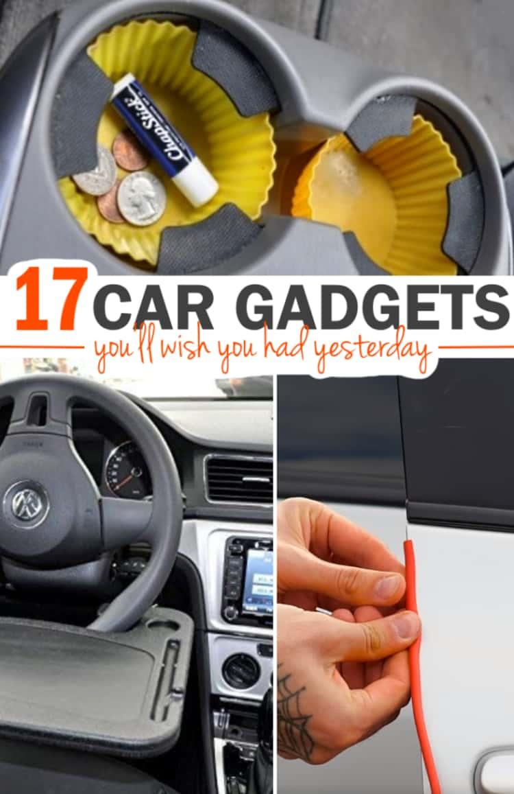 Car Gadgets You Wish You Had