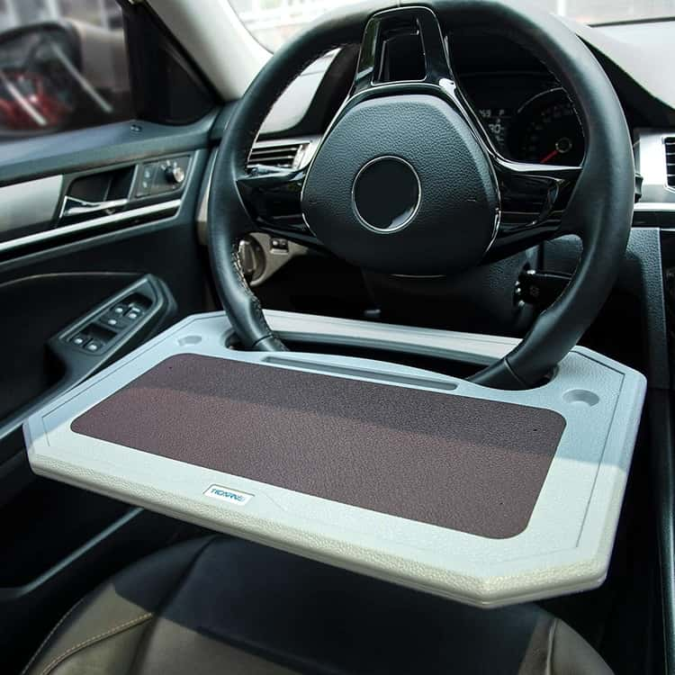 Tray for eating and working car gadget